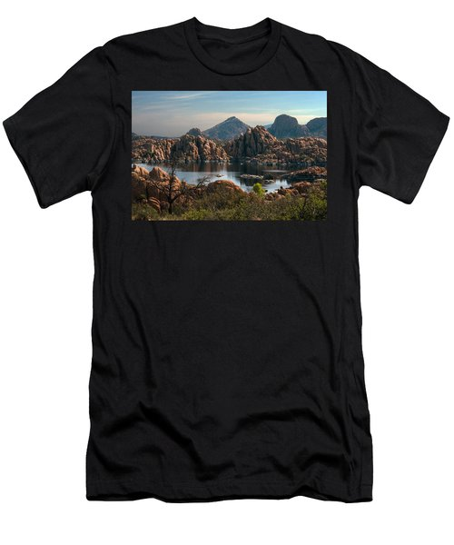 Granite Dells At Watson Lake Men's T-Shirt (Athletic Fit)