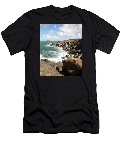 Granite Island Men's T-Shirt (Athletic Fit)