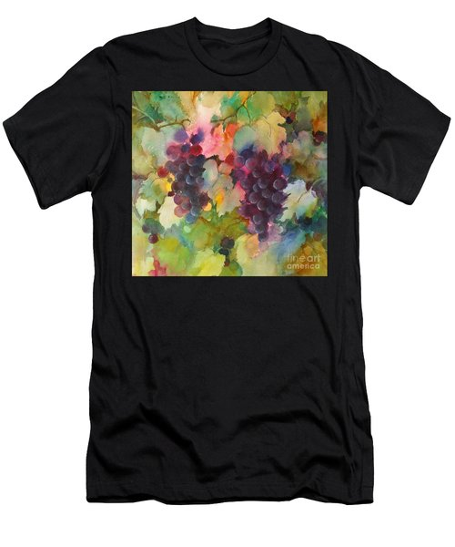 Grapes In Light Men's T-Shirt (Athletic Fit)