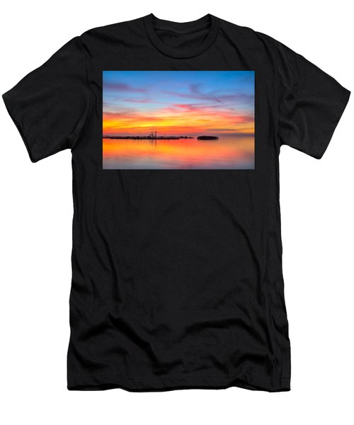 Grass Islands Of The Gulf Men's T-Shirt (Athletic Fit)