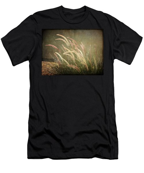 Grasses In Beauty Men's T-Shirt (Athletic Fit)