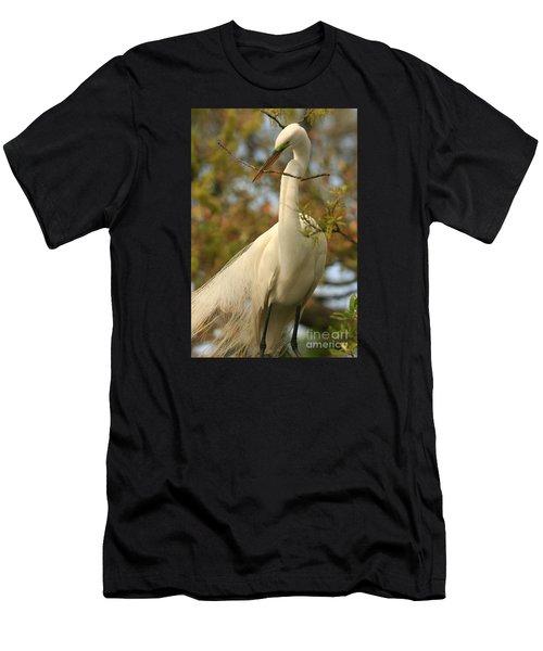 Great Egret Impressions Men's T-Shirt (Athletic Fit)