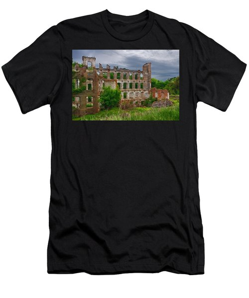 Great Falls Mill Ruins Men's T-Shirt (Athletic Fit)