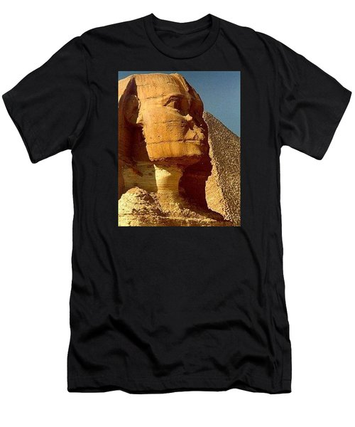 Men's T-Shirt (Slim Fit) featuring the photograph Great Sphinx Of Giza by Travel Pics