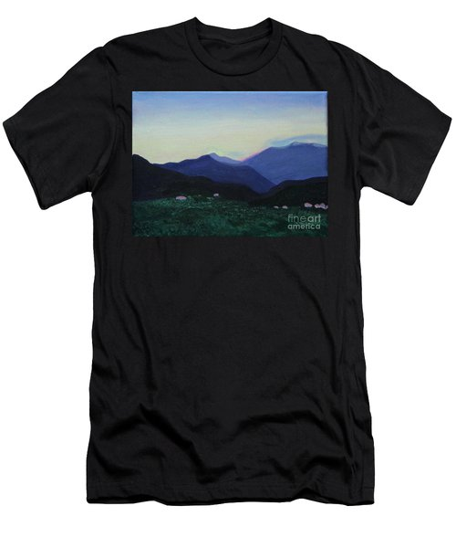 Greek Countryside Men's T-Shirt (Athletic Fit)