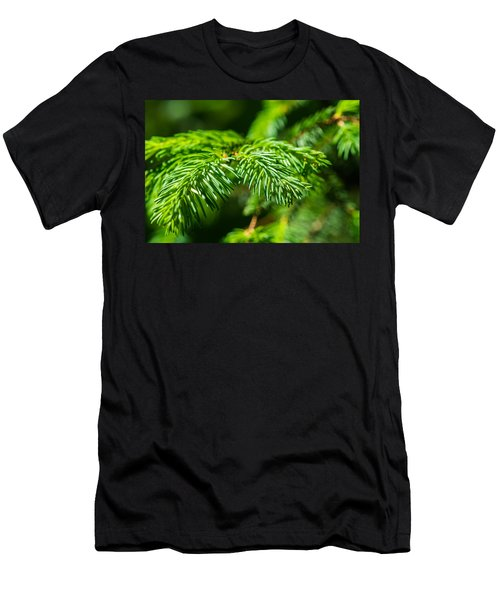 Green Christmas Tree 2 Men's T-Shirt (Athletic Fit)