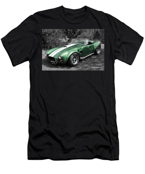 Green Cobra Men's T-Shirt (Athletic Fit)