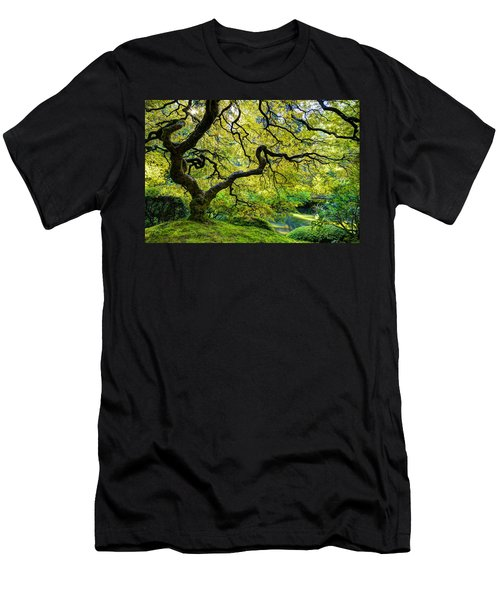 Men's T-Shirt (Athletic Fit) featuring the photograph Green by Dustin  LeFevre
