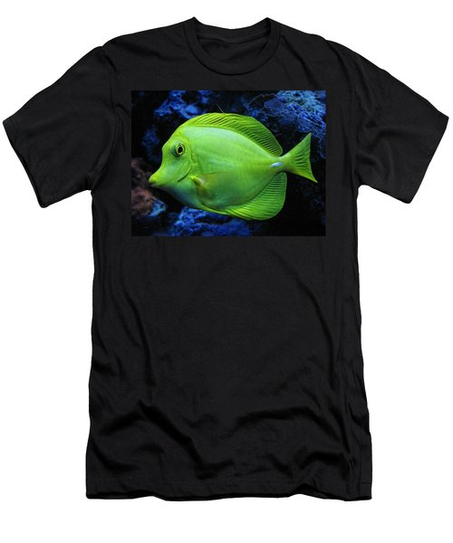 Green Fish Men's T-Shirt (Athletic Fit)