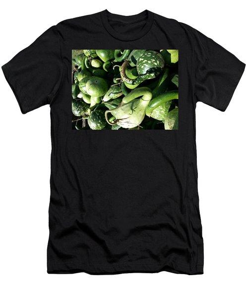 Green Goosenecks Men's T-Shirt (Slim Fit)