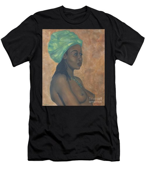 Green Headwrap Men's T-Shirt (Athletic Fit)