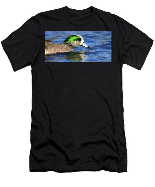Green Illumination Men's T-Shirt (Athletic Fit)