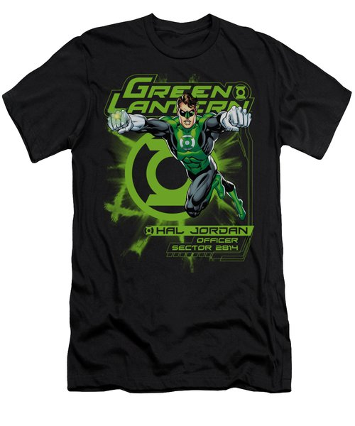 Green Lantern - Sector 2814 Men's T-Shirt (Athletic Fit)