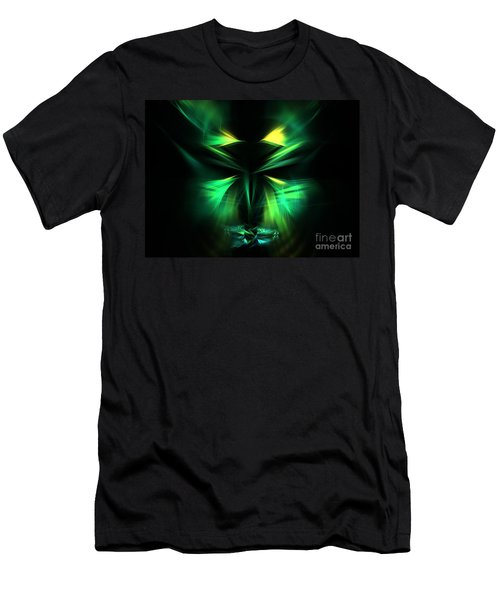 Green Man Men's T-Shirt (Athletic Fit)