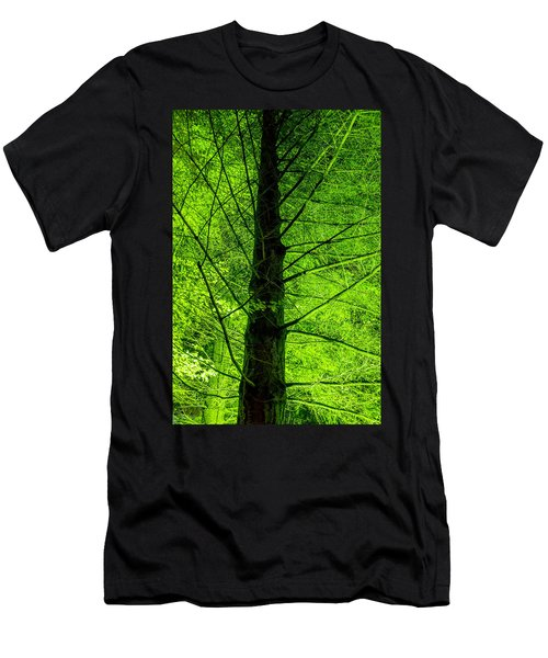 Green On Green Men's T-Shirt (Athletic Fit)