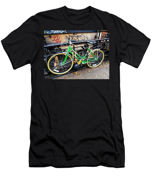 Green Schwinn Bike  Nyc Men's T-Shirt (Athletic Fit)