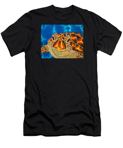 Green Sea Turtle Men's T-Shirt (Athletic Fit)