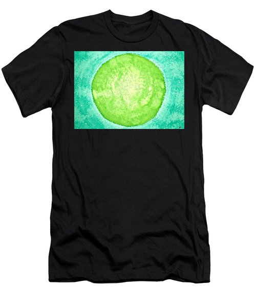 Green World Original Painting Men's T-Shirt (Athletic Fit)