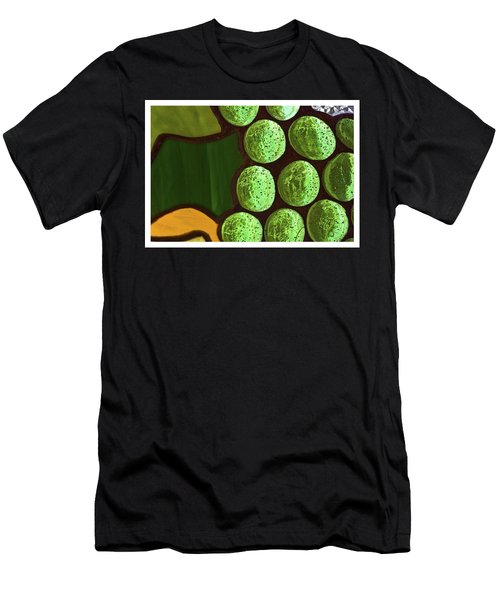 Green Yellow Men's T-Shirt (Athletic Fit)