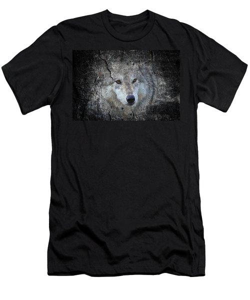 Grey Stone Men's T-Shirt (Slim Fit) by Athena Mckinzie