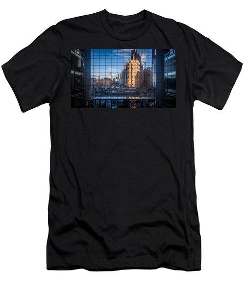 Grid Men's T-Shirt (Athletic Fit)