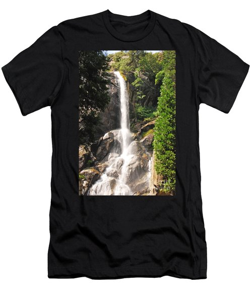 Grizzly Falls Men's T-Shirt (Slim Fit) by Mary Carol Story
