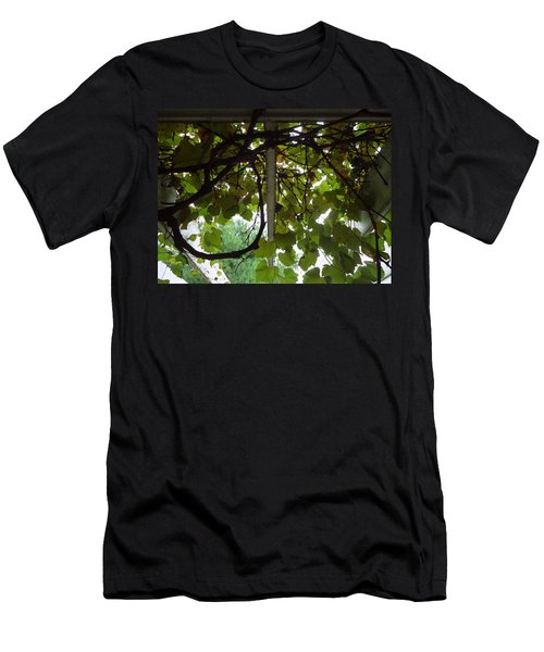 Men's T-Shirt (Slim Fit) featuring the photograph Gropius Vine by Joseph Skompski