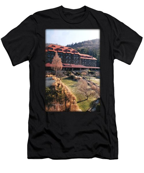 Grove Park Inn In Early Winter Men's T-Shirt (Athletic Fit)