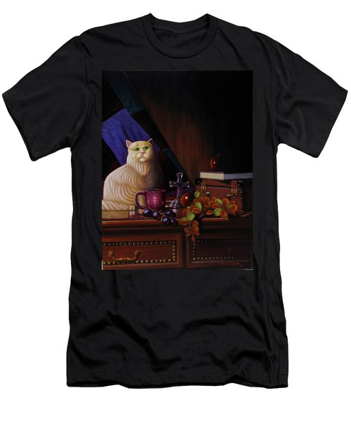 Grumpy Cat Men's T-Shirt (Athletic Fit)