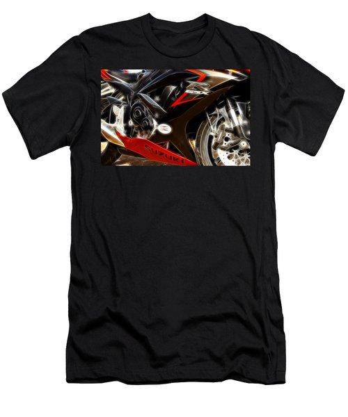Gsxr Fractal Men's T-Shirt (Athletic Fit)