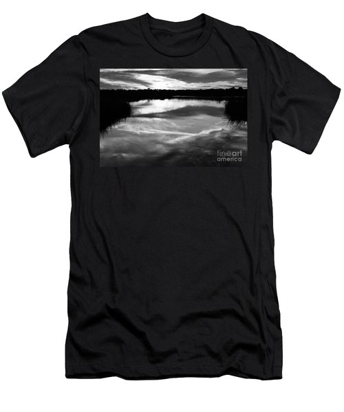 Guana Beach Reflections Men's T-Shirt (Athletic Fit)