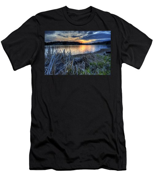 Guilford Lake Sunset Ohio Men's T-Shirt (Athletic Fit)