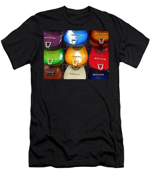 Guitaras San Antonio  Men's T-Shirt (Athletic Fit)