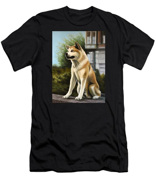Hachi Painting Men's T-Shirt (Athletic Fit)
