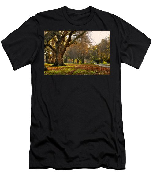 Hagley In Autumn Men's T-Shirt (Athletic Fit)