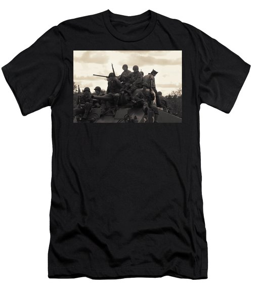Hail To The Victors Men's T-Shirt (Slim Fit) by Lyle Hatch