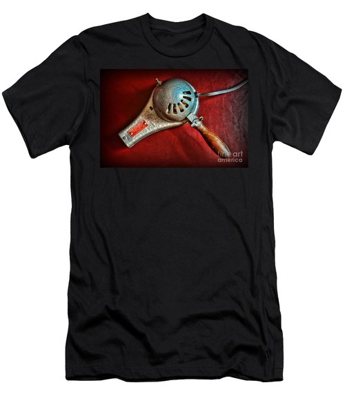Hair Stylist - Vintage Hair Dryer Men's T-Shirt (Athletic Fit)