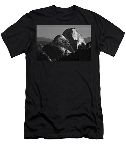 Half Dome At Sunset Men's T-Shirt (Athletic Fit)