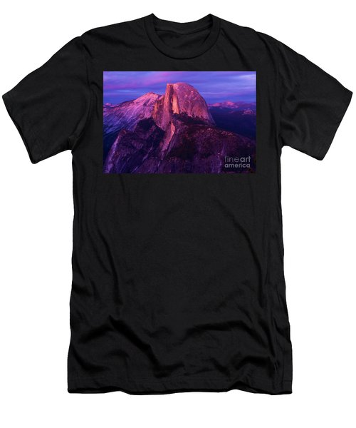 Half Dome Glow Men's T-Shirt (Athletic Fit)