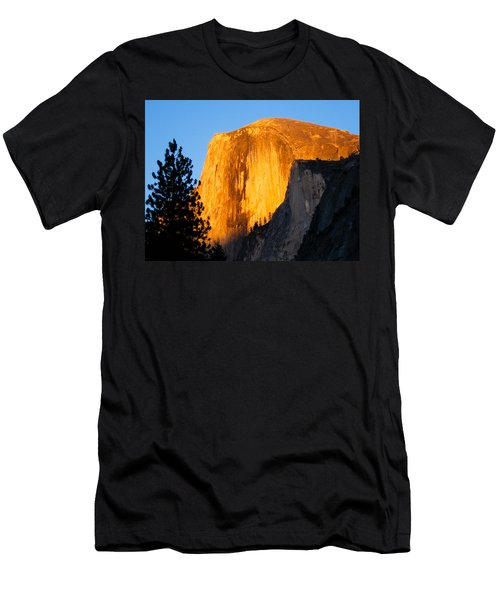 Half Dome Yosemite At Sunset Men's T-Shirt (Athletic Fit)