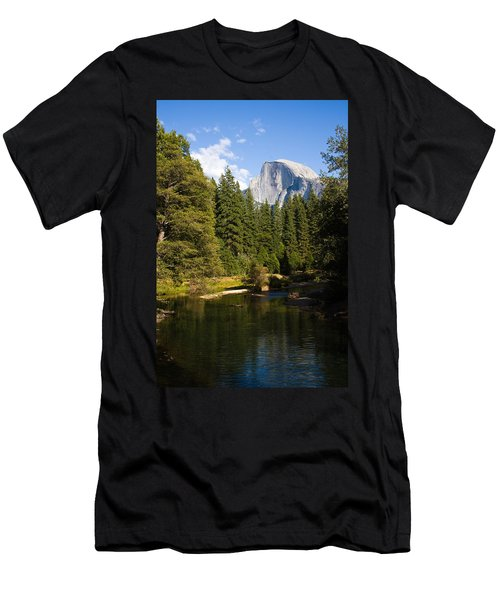 Half Dome Yosemite National Park Men's T-Shirt (Athletic Fit)