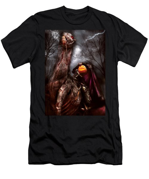 Halloween - The Headless Horseman Men's T-Shirt (Athletic Fit)