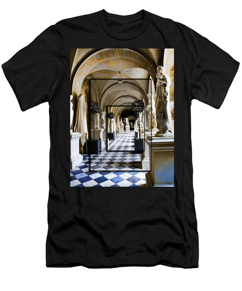 Halls Of Versailles Paris Men's T-Shirt (Athletic Fit)
