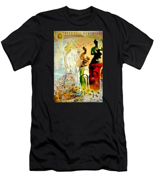 Halucinogenic Toreador By Salvador Dali Men's T-Shirt (Athletic Fit)