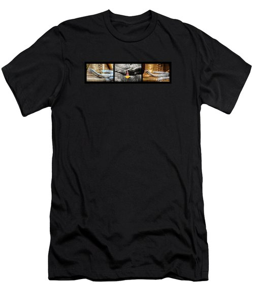 Hands Of Buddha Men's T-Shirt (Athletic Fit)