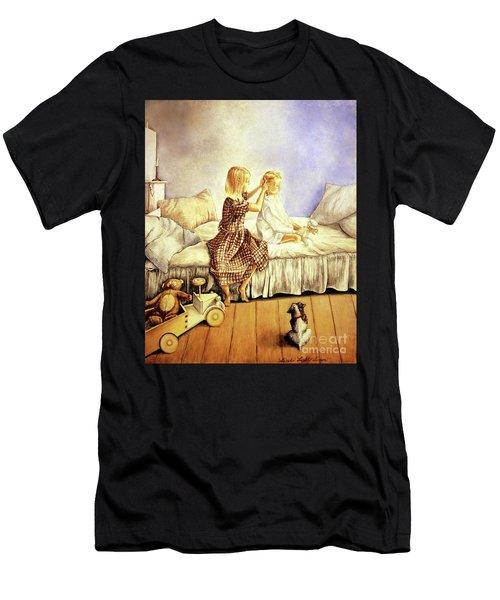 Hands Of Devotion - Childhood Men's T-Shirt (Athletic Fit)