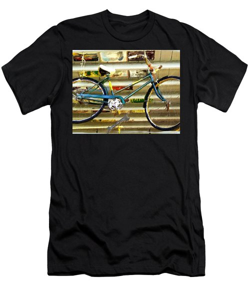 Hanging Bike Men's T-Shirt (Athletic Fit)