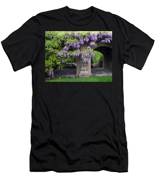 Hanging Wisteria Men's T-Shirt (Athletic Fit)