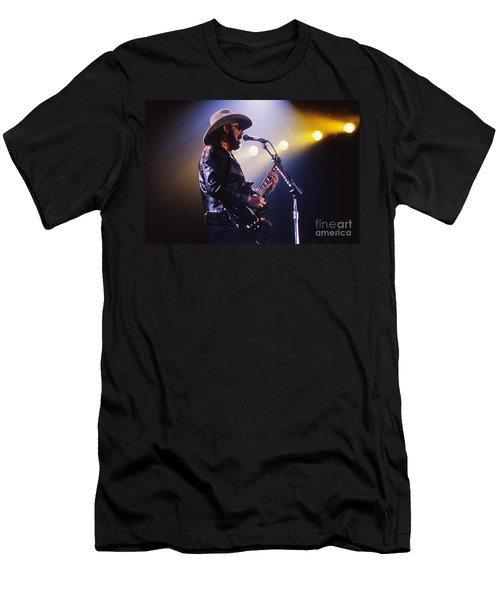 Hank Williams Junior - Fs000246 Men's T-Shirt (Athletic Fit)