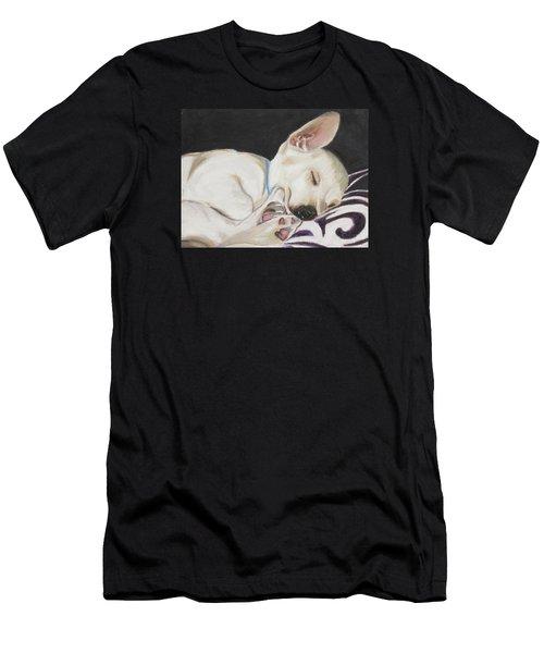 Hanks Sleeping Men's T-Shirt (Athletic Fit)